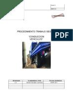Procedimiento Trabajo Conduccion Vehiculo