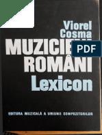 Gheorghe Ciobanu in Lexicon muzical