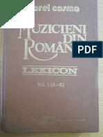 Gheorghe Ciobanu, Lexicon