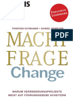 Leseprobe - MACHTFRAGE Change