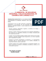 polticadeseguridadsaludocupacionalymedioambiente-130801084019-phpapp02