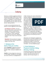 Myths About Bullying Tipsheet from StopBullying.gov