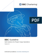 BBC Guideline - Safe Solutions for Project Cargo Operations