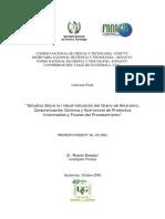 Industrializacion Del Grano de Amaranto