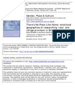 Burman&Chantler There's No Place Like Home Gender,Place & Culture