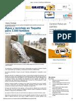 Agua y Reciclaje en Taquiña