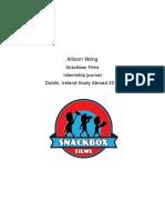 final wong journal