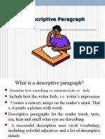 Descriptive Paragraphs2