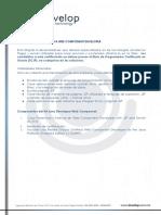 Temario Curso de Java. Certificacion OCWCD