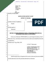 05-22-2016 ECF 429 USA v PETER SANTILLI - Santilli's Motion to Sever - Because Journalist