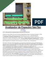 Analizador de Espectro NeoTeo