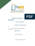 INTRDUCCION ALA INGERIA Carlos Alberto Suarez Bastidas