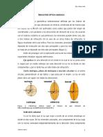 Indicatriz Ptica Uni Xica y Figura de Interef