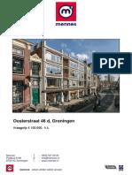 Brochure Oosterstraat 46 d