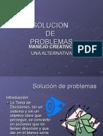 Solucion de Problemas Acetatos