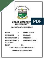 Attachee Assement Report