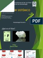 flúor sistémico