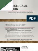 sociological theory  2