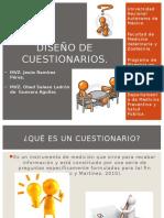 Diseño de Cuestionarios en Epidemiología Veterinaria.