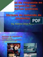 Acciones de Respuesta. Sistema de Comando de Incidentes
