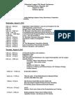West Virginia Municipal League 47th Annual Conference Agenda