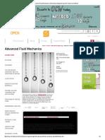Reference - Advanced Fluid Mechanics MIT 2.25