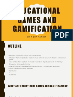 educational games and gamification