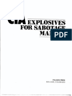CIA Explosives for Sabotage Manual