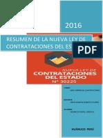 Trabajo_resumen Nueva Ley Osce y Comparacion