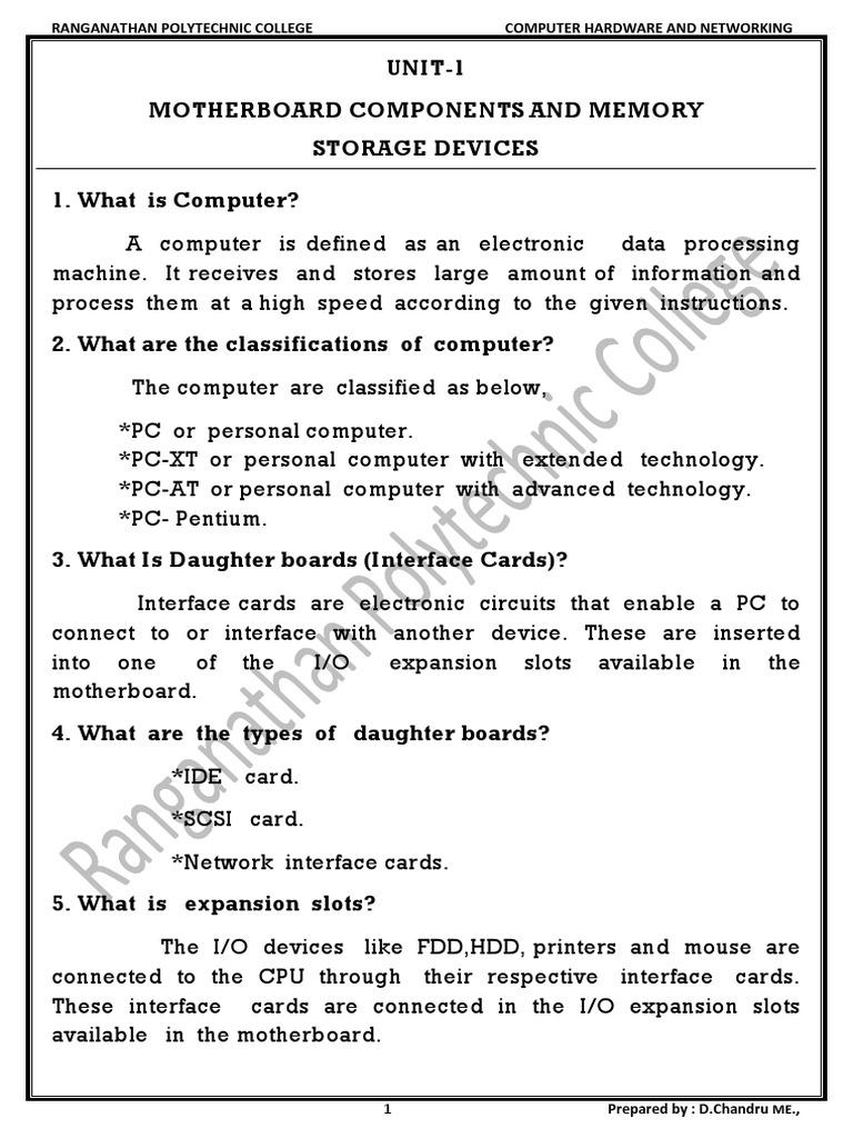 Computer Hardware & Networking Job In Dubai