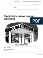 BybeeMedia's link to violence clear but unreported | Opinion | Eugene, Oregon