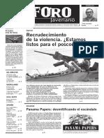 Foro Javeriano Mayo 2016