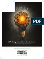 2016 Entrepreneurs & Innovators Conference