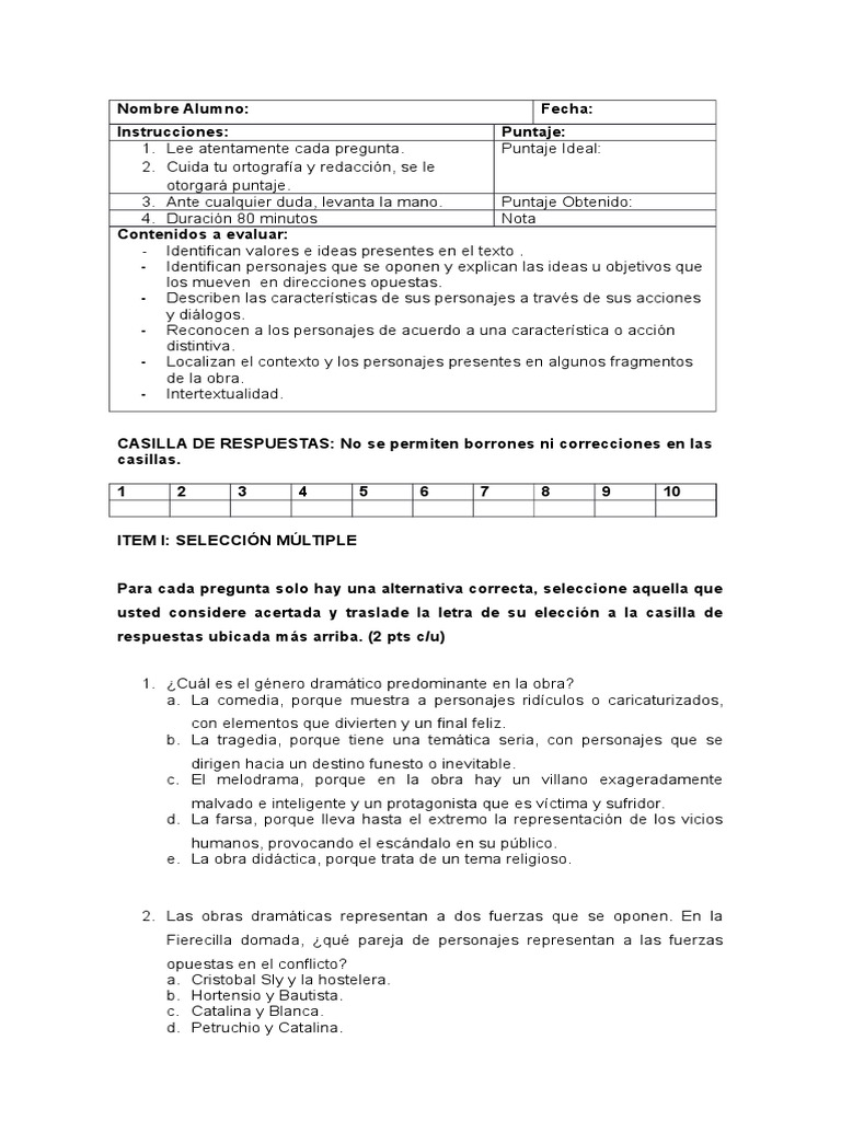 La Fierecilla Domada Pdf Download