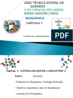Cap. 1 Part 1 Bioquimica