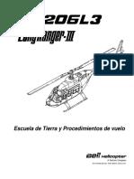 Manual De Vuelo Bell 206L3 Español