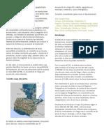 Departamentos Vulnerables de Guatemala