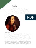 Benjamin Franklin biografia
