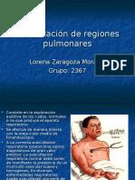 Auscultación de Regiones Pulmonares