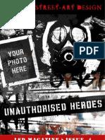 LSD Magazine - Issue 4 - Unauthorised Heroes