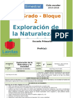Plan 2do Grado - Bloque 2 Exploración de la Naturaleza.doc