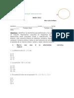 prueba enteros y teoria de conjuntos