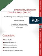 Instalaciones 10 - Sistema Detección y Extinción Incendios