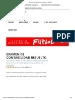 Examen de Contabilidad Resuelto y ¡GRATIS!