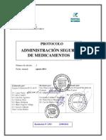 PROTOCOLO ADMINISTRACION MEDICAMENTOS