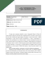 Relatório de Aula Prática - Urianálise