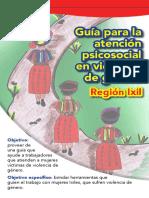 Fichas Guia Para La Atencion Psicosocial en Violencia de Género RegionIxil