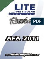 2011 Afa Matematica Resolvida