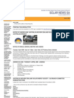Solar News, March 2006 ~ Australian And New Zealand Solar Energy Society - South Australian Branch