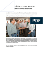 2016-05-22 Trabajo y No Pleitos Es Lo Que Queremos Los Chihuahuenses